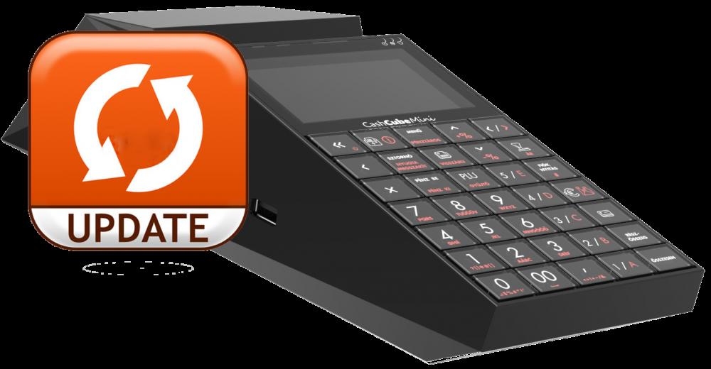 Elkezdődött a Cash Cube Mini pénztárgépek szoftver frissítése
